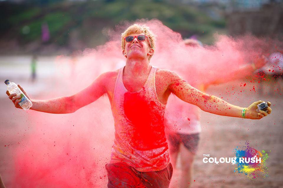 #ColourRush #Paignton beach