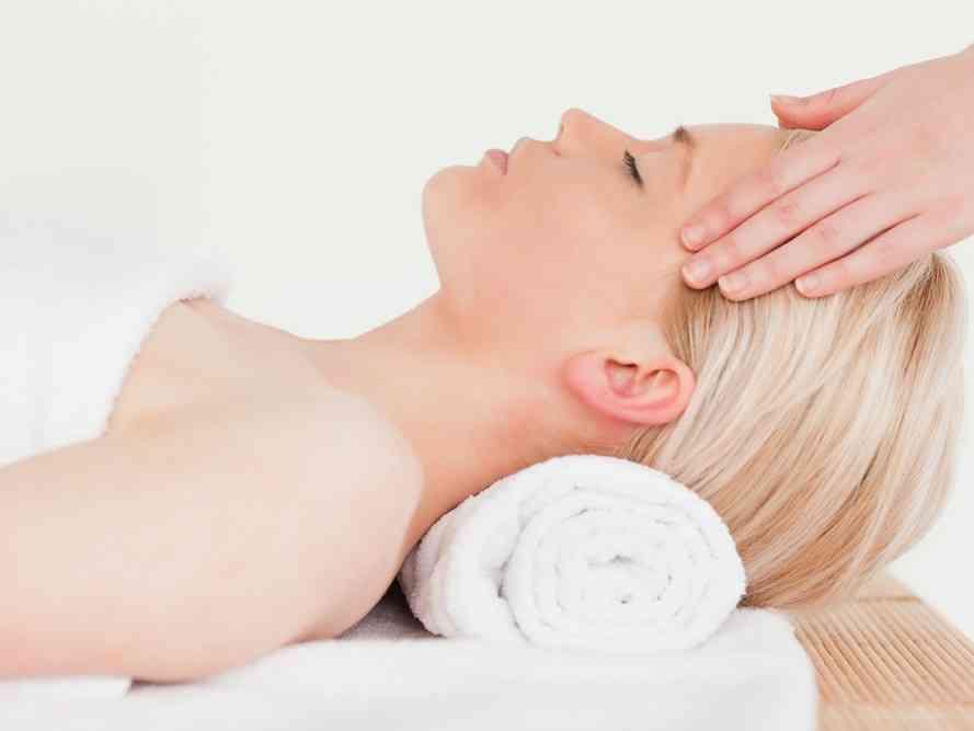 Indian Face Massage
